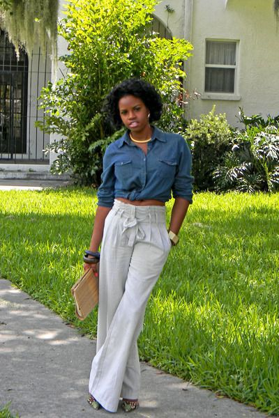 "If you read the title of this and thought, ""WTF are paper bag waist pants?"" let me explain. Paper bag waist pants are pants that have a scrunchy waist that reminds one of a paper bag. They usually scrunch at the waist and are tied together with a ribbon/belt. They're chic, elegant, and probably not … Read More"