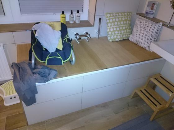 badewannen abdeckung bauanleitung zum selber bauen selber machen bad pinterest. Black Bedroom Furniture Sets. Home Design Ideas