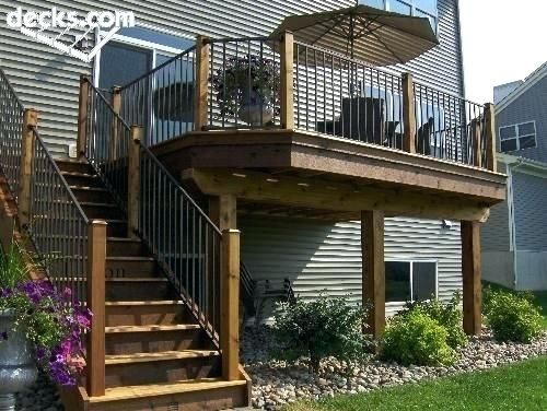 Second Story Deck Plans Pictures Second Story Deck Plans Best Second Story Deck Deck Pictures Plans Story In 2020 Porch Design Patio Design Decks Backyard