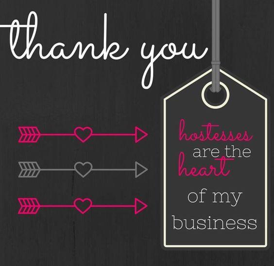 THANK YOU HOSTESS | My Thirty One Journey | Pinterest