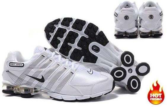 httpwww.asneakers4u.com Mens Nike Shox R4 White Black