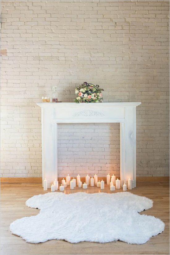 winter wedding | ceremony ideas | cozy | intimate wedding | vintage rentals | design by Ira & Lucy | #wchappyhour | #weddingchicks