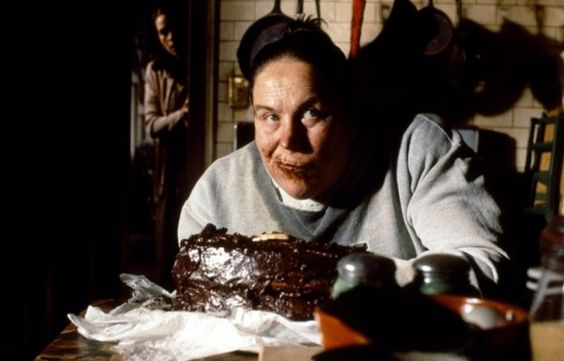 chocolate cake (Agatha Trunchbull stuffs her face, Matilda)