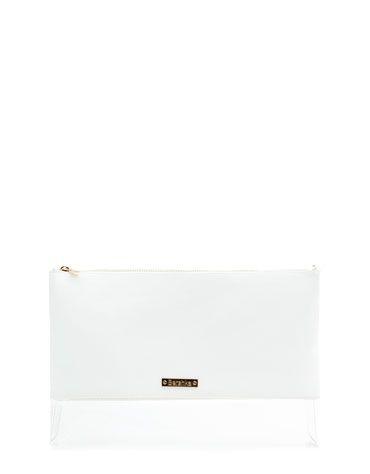 Bershka United Kingdom - Vinyl base portfolio bag