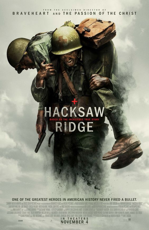 Return to the main poster page for Hacksaw Ridge (#2 of 2):