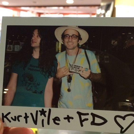 Apparently there's a sub pop store at the Seattle airport: was a killer west coast leg of touring with farmer Dave heron oblivion and cass Mccombs thanks to all above and picture to prove it I got the proof... @timelessdave @heronoblivion #violated see y'all's later!!! by kurtvile