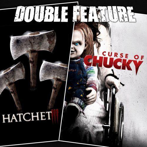 Hatchet 3 + Curse of Chucky - https://doublefeature.fm/2014/hatchet-3-curse-of-chucky