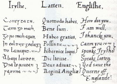 Irish language outside Ireland - Wikipedia, the free encyclopedia