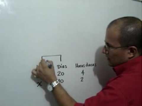 Regla de Tres Compuesta Problema 2: Julio Rios explica cómo resolver un problema usando la Regla de Tres Compuesta