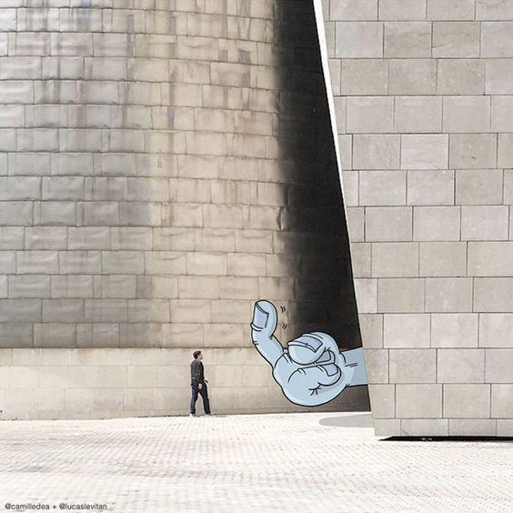 Illustrator Adds Funny Cartoons To Strangers' Instagram Photos (Part 3)