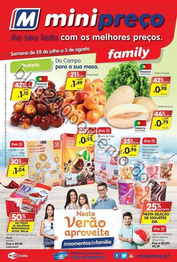 Antevisão Folheto MINIPREÇO Family promoções de 28 julho a 3 agosto - http://parapoupar.com/antevisao-folheto-minipreco-family-promocoes-de-28-julho-a-3-agosto/
