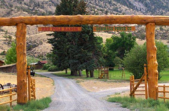 Cedar Log Driveway Arches No Gate Google Search Arch