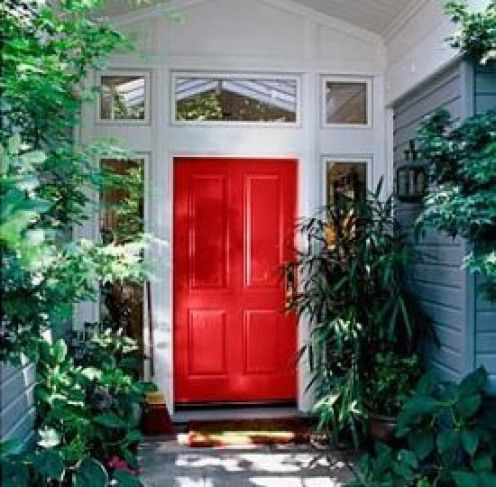 What Is The Meaning Of A Red Door On A House A Red Door Means Welcome Supposedly Red Doors Were Red Front Door Front Door Paint Colors Front Door Design