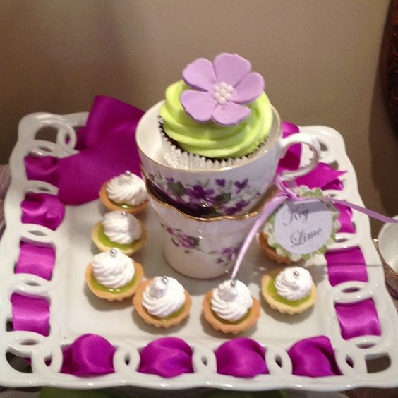 cute cup cake decor