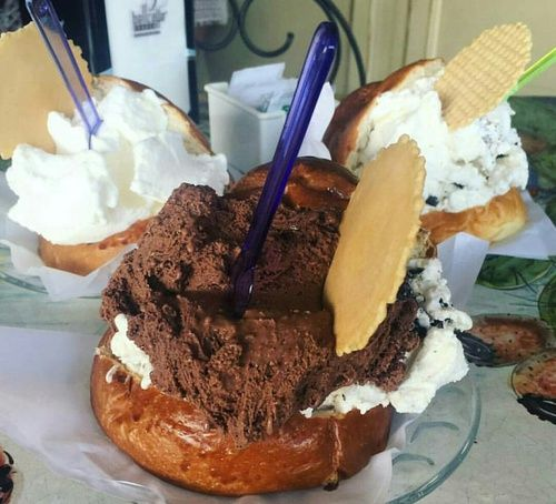 Imagen de chocolate and icecream