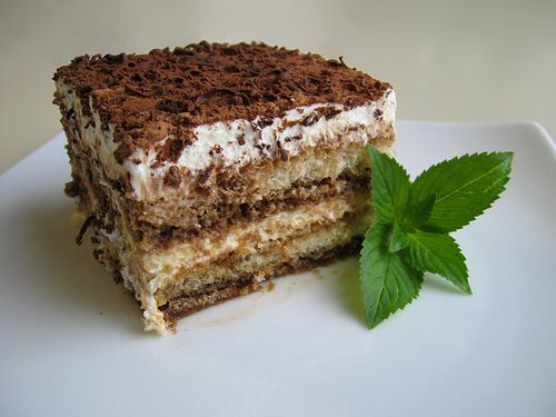 Simple Tiramisu (rated well by Food Gawkers)