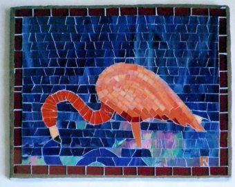 Flamingo Feeding Wall Hanging FBCBF