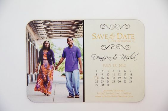 Save The Date Magnet U2022 Picture Save The Date | Kindly R.S.V.P. Designs ♡  Invitations And More | Pinterest