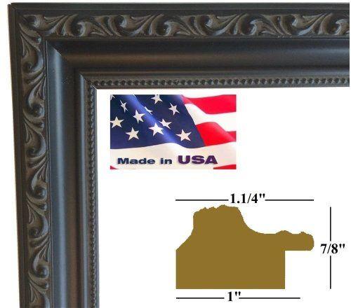 20x30 Black Victorian Ornate 1.25 Inch Solid Wood Picture Poster Photo Frames #DM-BLK-W-1.25-10187 USART http://www.amazon.com/dp/B00JLLL5PI/ref=cm_sw_r_pi_dp_3pLTtb15TP3D5ZXG
