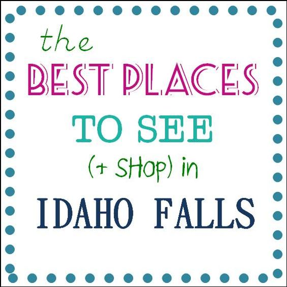 The best places to see, shop, visit, and do in Idaho Falls, Idaho.  #idaho #familyfun #roadtrip