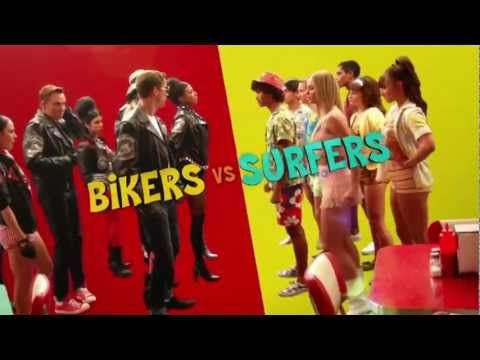 teen beach movie   Disney Channel Teen Beach Movie Promo   PopScreen( reminds me of the Montague and the Capulets