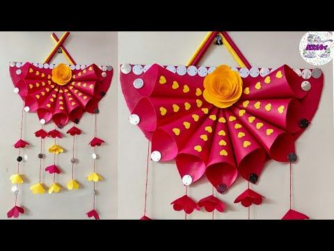 Diy Paper Craft Ideas Wall Decoration Simple Home Decor