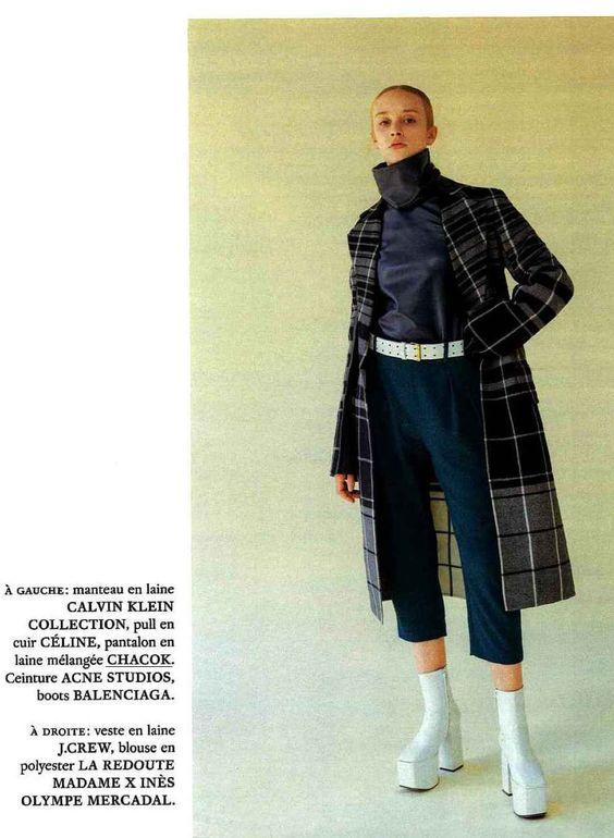 MARIE-CLAIRE, NOVEMBRE 2016 Pantalon VERNEUIL