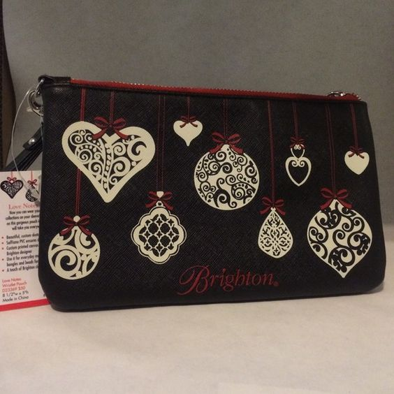 Brighton Christmas Ornament Wristlet🎄 Very cute wristlet! Never used and New With Tags! Open to offers. I just don't use it.  Don't be afraid to ask for more pictures 😊 Brighton Bags Clutches & Wristlets