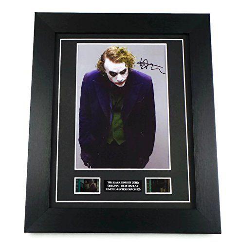 Heath Ledger signed photo print