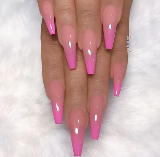 Pinterest Thejadeharris Ombre Acrylic Nails Ombre Nail Designs Coffin Nails Designs