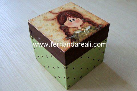 Cajita niña pintada2