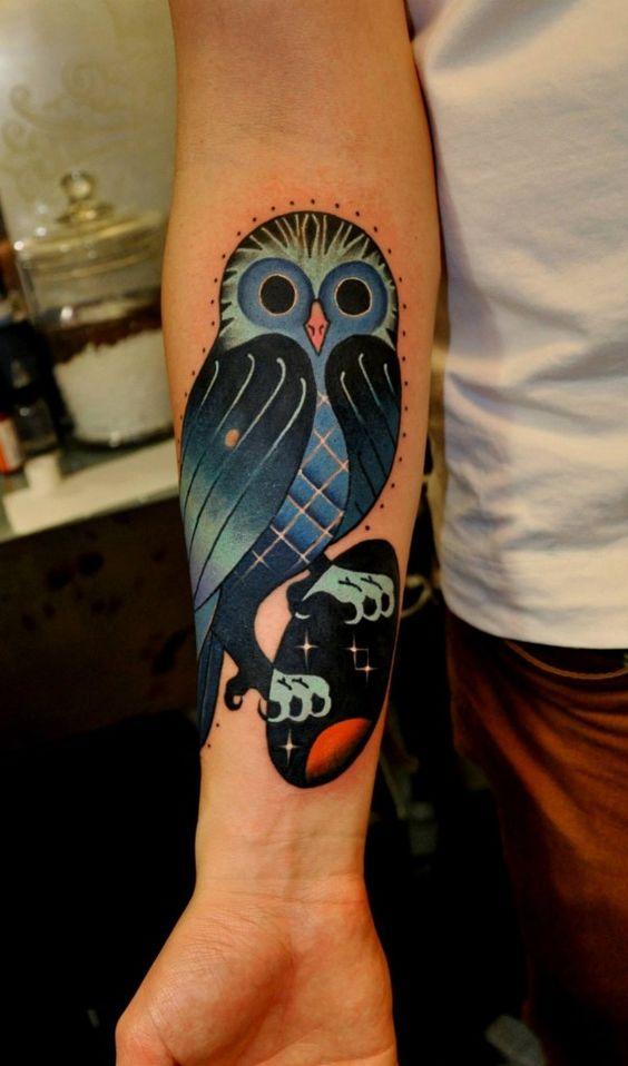 As tatuagens de Marcin Aleksander Surowiec: