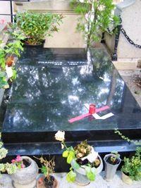 François Truffaut, cimetière de Montmartre