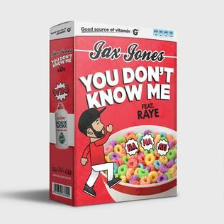 Jax Jones, Raye – You Don't Know Me acapella