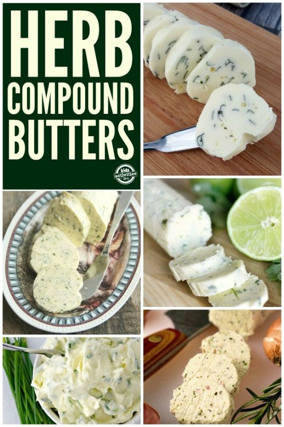 ... butters infused butter and more compound butter butter recipe herbs