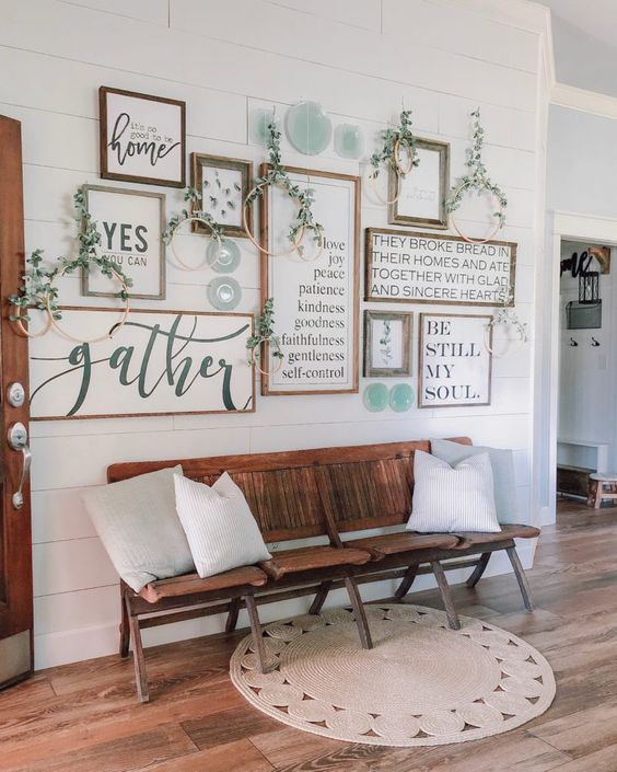How To Create An Easy Gallery Wall! - Cotton Stem