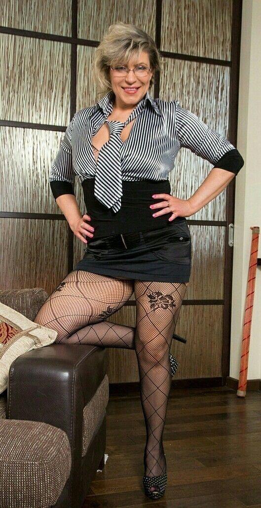 Sexy Mature Women Pantyhose