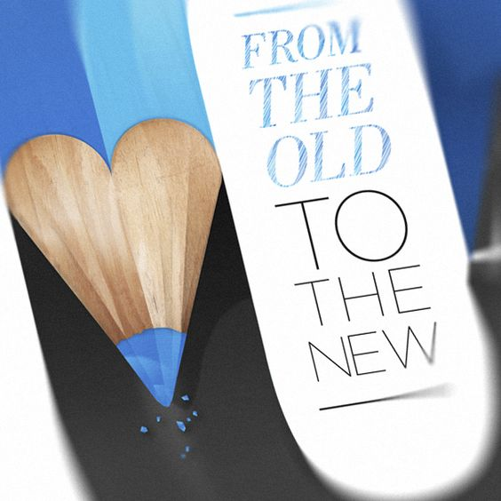 From the Old to the New by Baimu studio, via Behance