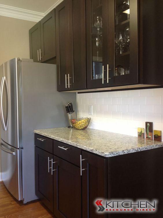 discount kitchen cabinets subway tile backsplash and granite counters