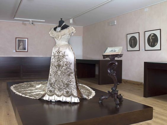 Lace making is celebrated at the Lace Museum on the island of Burano some four miles from Venice-Going!
