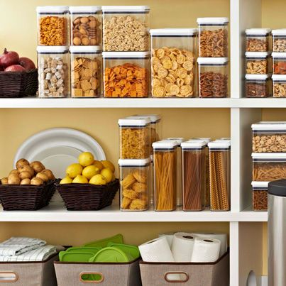 In kitchen pantry and storage on pinterest for Better homes and gardens canisters