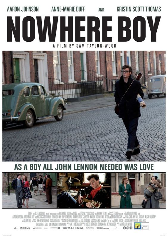 Nowhere Boy, a movie about young John Lennon. It was seriously amazing and I was crying at the end. Definitely worth the watch!