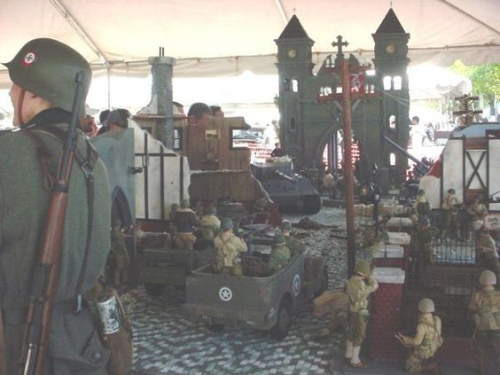 Diorama 1/6th scale: W.W.II.