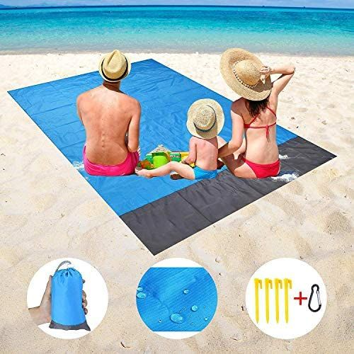 Oriflame Sand Free Beach Blanket Extra Large Waterproof Beach Mat