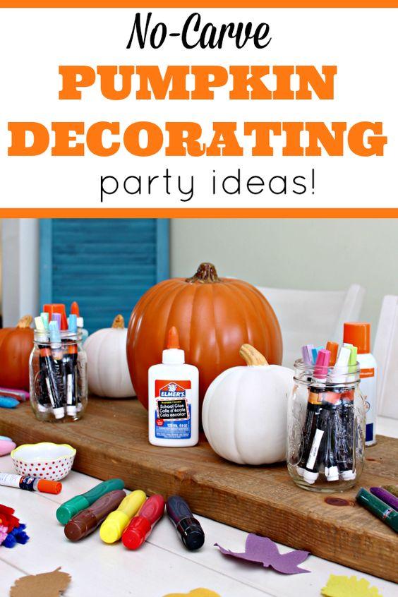 Pumpkin Decorating Decorating Ideas And Pumpkins On Pinterest