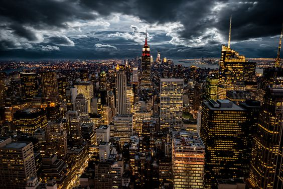 New York Storm by Tobias Ackeborn on 500px