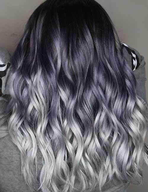 45 Stunning Hair Color Trends For Girls Hairstylesvila Grey Ombre Hair Hair Styles Popular Hair Color