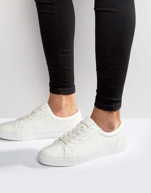 ASOS DESIGN sneakers in white   ASOS