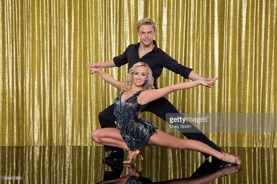HOUGH - The 10th anniversary celebrity cast of 'Dancing with the Stars' is strapping on their ballroom shoes and getting ready for their first dance on MONDAY, MARCH 16 (8:00-10:01 p.m., ET) on the ABC Television Network. Nastia Liukin is partnered with Derek Hough.