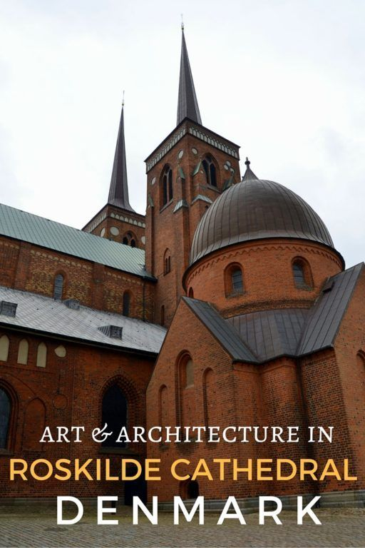 Guide and tips for visiting Roskilde Domkirke or Roskilde Cathedral in Roskilde, Denmark - th coutry's royal mausoleum and burial site.